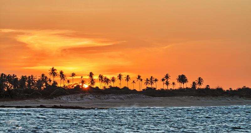Sonnenuntergang am Praja de Tourinhos