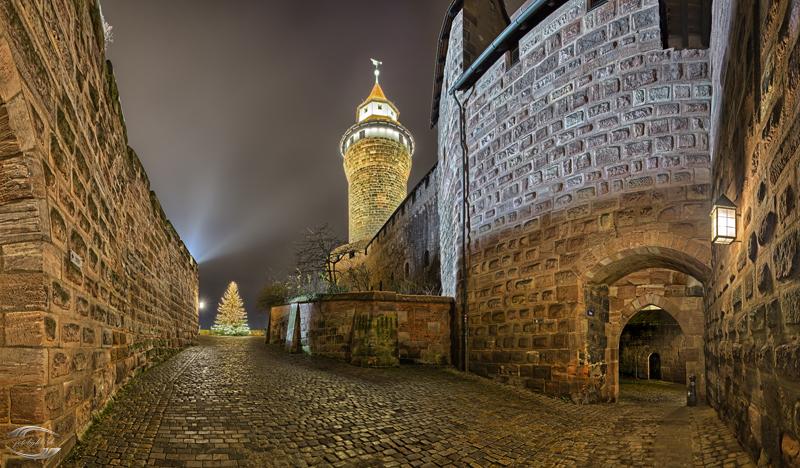 Blick auf die Burgfreiung