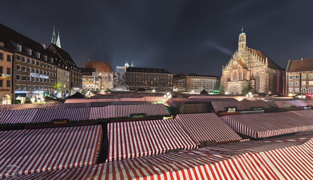 Bild vom Christkindlesmarkt