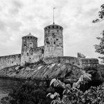 Bild einer Festung im Wasser