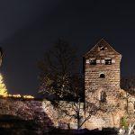 Burg mit dem Krippenspiel