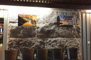 Bild der Ausstellung im Restaurant in Sieravuori