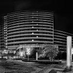 Panorama eines Verwaltungsgebäudes