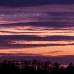 Abendhimmel über Nürnberg