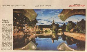 Bild eines Zeitungsartikels